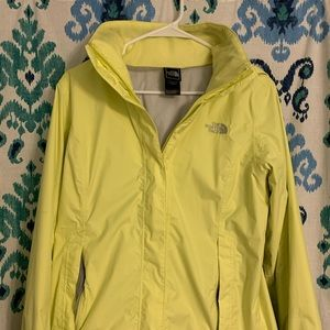 The North Face women's raincoat